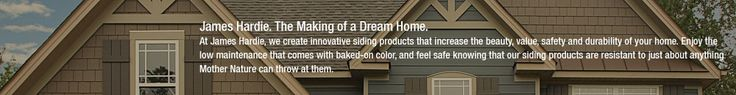 Home Siding | House Siding from James Hardie- color combo
