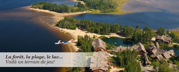 Auberge du Lac Taureau et ses condos en Lanaudière, forfaits spa hotel, vacances Québec Canada