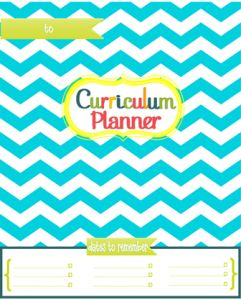 FREE resource-Choose from 9 front covers and 4 back covers for your curriculum planners!