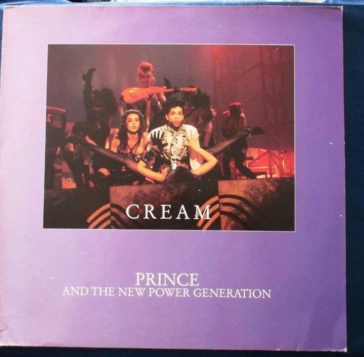 "Prince 'Cream' 1991 US 12"" vinyl Maxi-Single 3-Tracks made in England DJ MUSIC #Funk"