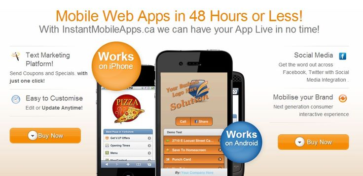 Mobile Web Apps in minutes | We are your mobile marketing solution. Mobilise Your Brand for Next generation consumer interactive experience