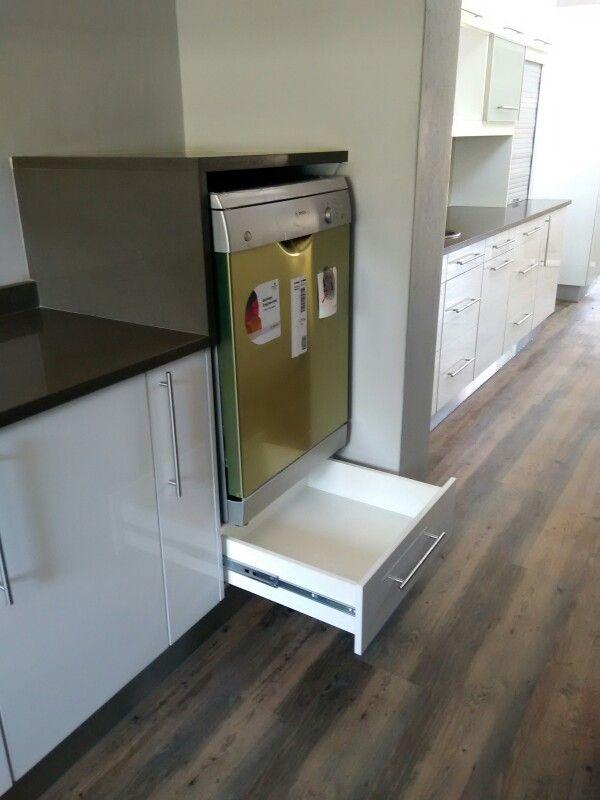 dishwasher with bottom drawer