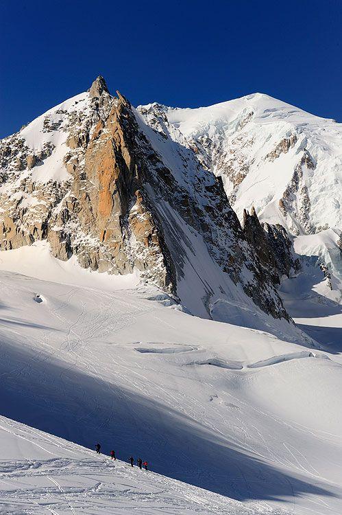 Discesa della Vallee Blanche - Alpinfoto travel mountain blog