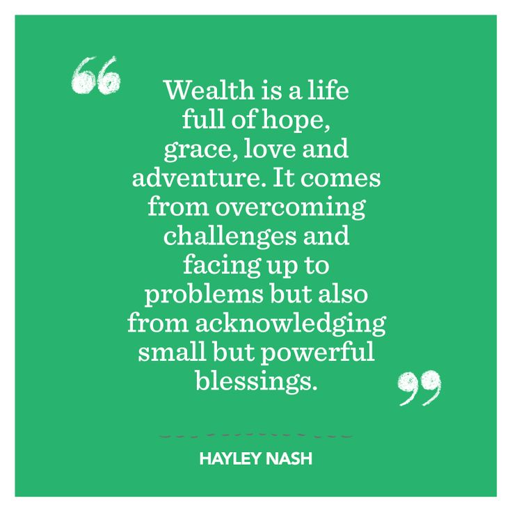 This is what Hayley had to say. #truemeaningofwealth #ngssuper #superannuation