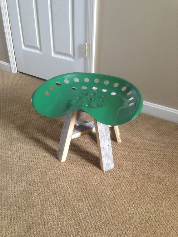 Tractor Stool for kids  by Riley13 on Etsy, $38.00