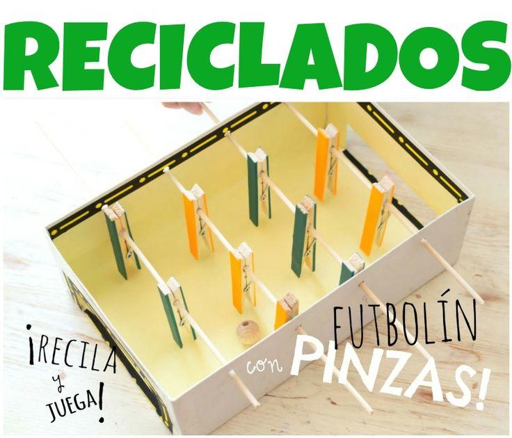 Material reciclado para manualidades