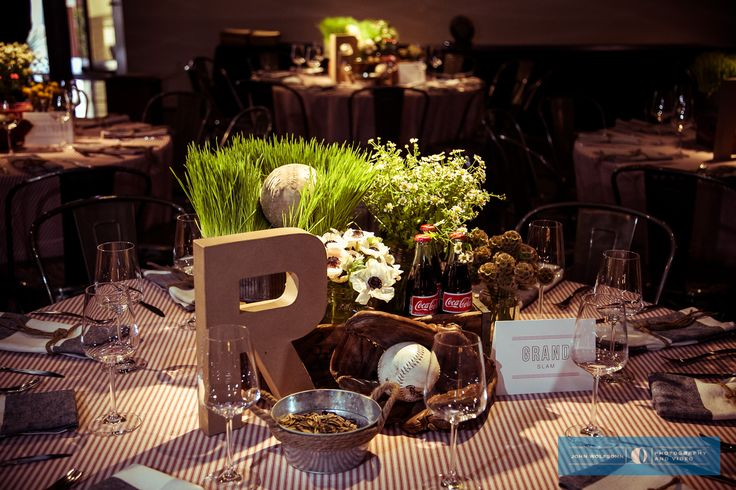 Rowan's Vintage Baseball Themed Bar Mitzvah