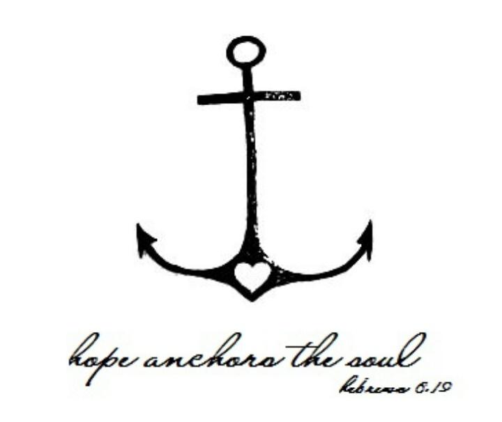 Anchor heart bible verse