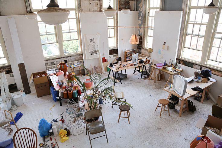 Ana Kraš' studio, NYC. Photo by Giada Paoloni.