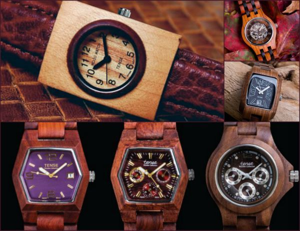 Tense Watch: The Original Wood Watch - Snow Consulting