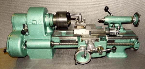 Общий вид токарно-винторезного станка ТВ-16