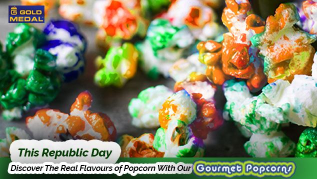 This Republic Day U201cDiscover The Real Flavours Of Popcorn With Our Gourmet  Popcornsu201d. | Kitchenrama  Dealers In Commercial Kitchen Equipment |  Pinterest ...