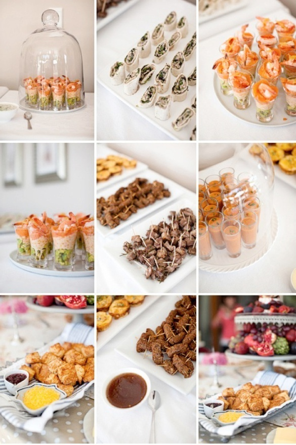 Gourmet finger foods finger food party pinterest for Cheap wedding canape ideas