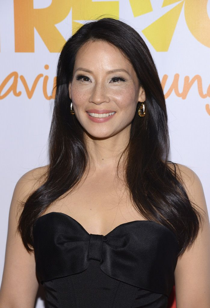 Lucy Liu Photos: Arrivals at the 'TrevorLive NY' Event