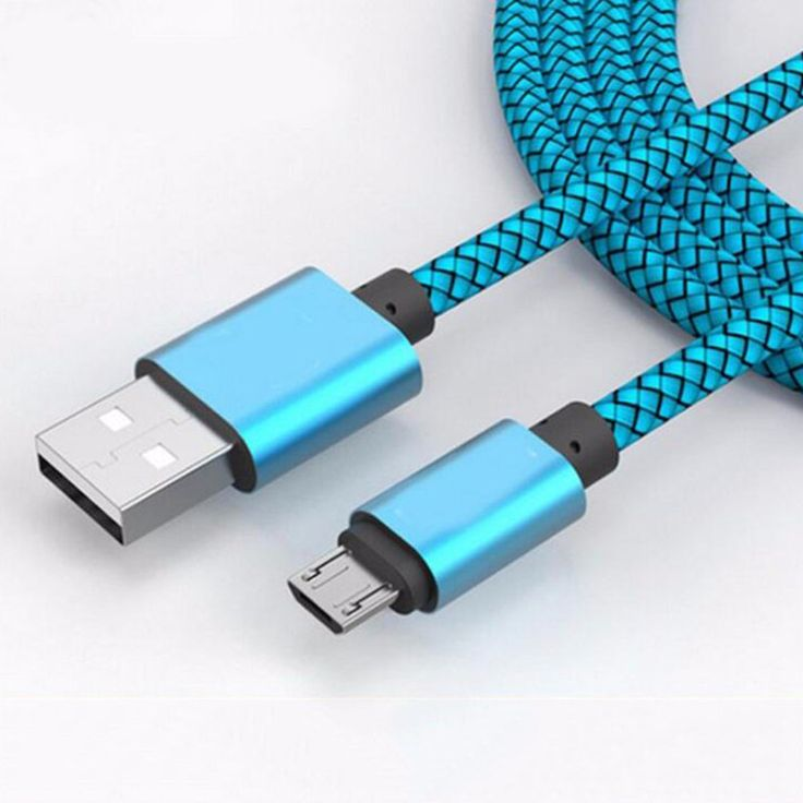 Micro USB Nylon Braided Fast Charging Cable For Samsung Galaxy Huawei LG HTC 5V 2A USB 2.0 Cable Data Sync For Android Cellphone