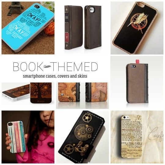 Find all most beautiful book-themed phone cases covers and skins at http://ebks.to/15fGIGl