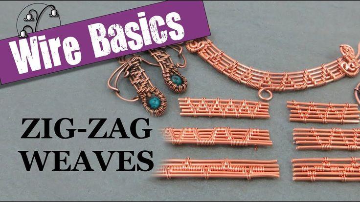 Wireweaving Basics: Zig-Zag Weaves