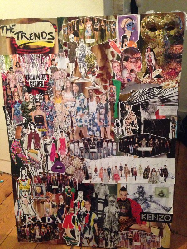 My merch mood board for Zara