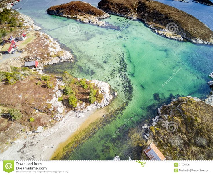 Norwegian Fjord And Coast, Aerial View - Download From Over 58 Million High Quality Stock Photos, Images, Vectors. Sign up for FREE today. Image: 91005126