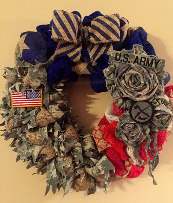 Hey, I found this really awesome Etsy listing at https://www.etsy.com/listing/276097368/military-pride-wreath-uniform-wreath