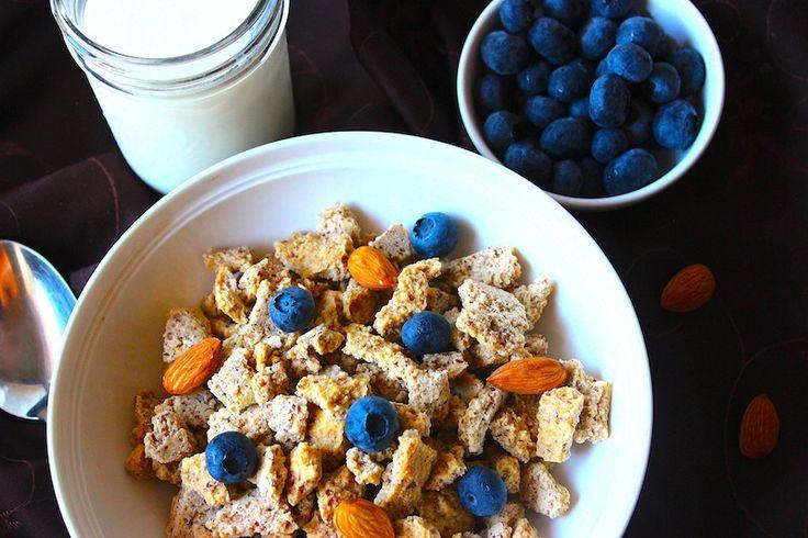 Organic Cinnamon & Honey Nut Crunch Cereal Recipe - Whole Lifestyle Nutrition   Organic Recipes   Holistic Recipes