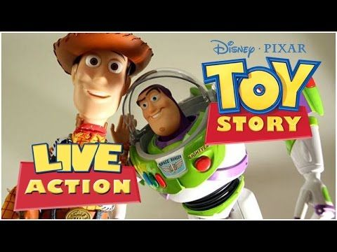 Toy Story LIVE ACTION - Dublado PT-BR - Filme Completo ;D