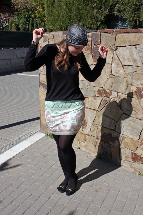 aztec perfect skirt on