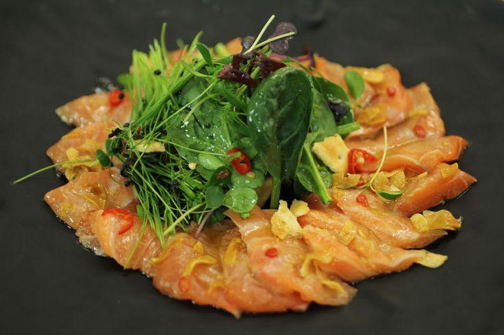 Tiradito de salmon Robin Food
