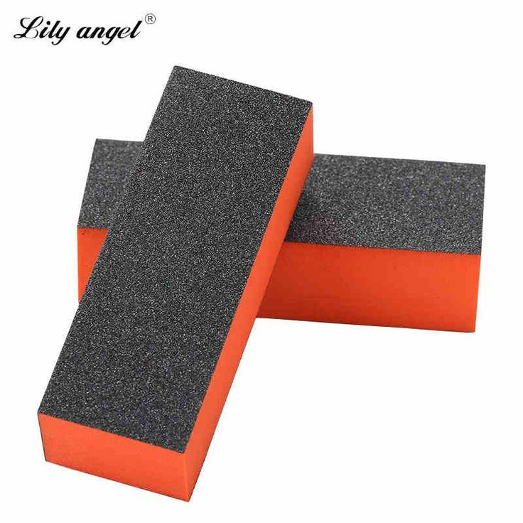 Lily angel 2pcs Nail File Buffer Polishing Block Sanding Sponge