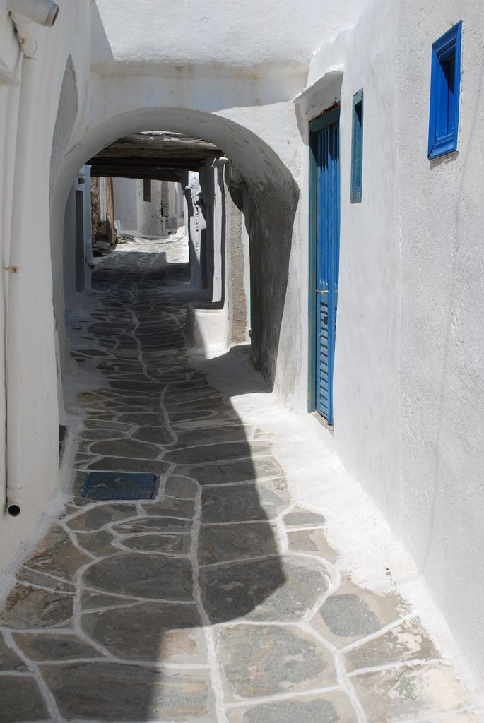 Village of Kastro in Sifnos Island, Cyclades_ Greece