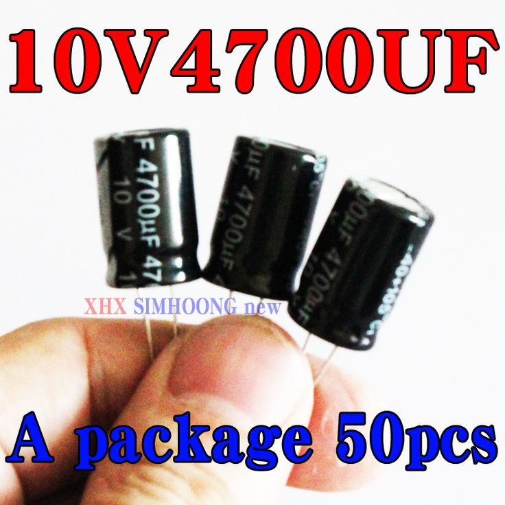 $13.00 (Buy here: https://alitems.com/g/1e8d114494ebda23ff8b16525dc3e8/?i=5&ulp=https%3A%2F%2Fwww.aliexpress.com%2Fitem%2FElectrolytic-capacitors-electrolytic-capacitors-10V4700UF-new-common-capacitor-13-20-50PCS-free-shipping%2F2040114958.html ) Electrolytic capacitors electrolytic capacitors 10V4700UF new common capacitor 13 * 20 50PCS free shipping for just $13.00