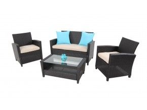 Novo-4pc-sofa-set-chocolate-beige