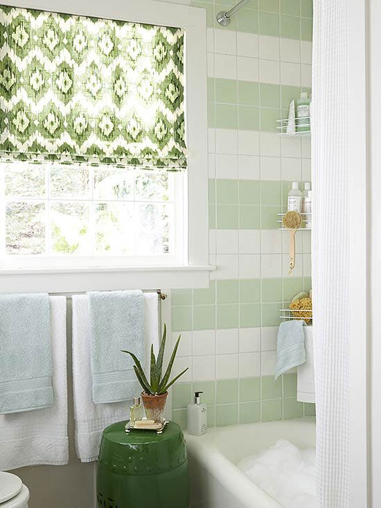 Vintage charm takes over in this mint-green renovation: http://www.bhg.com/bathroom/remodeling/makeover/before-and-after-bathrooms/?socsrc=bhgpin092014vintagecharm&page=2