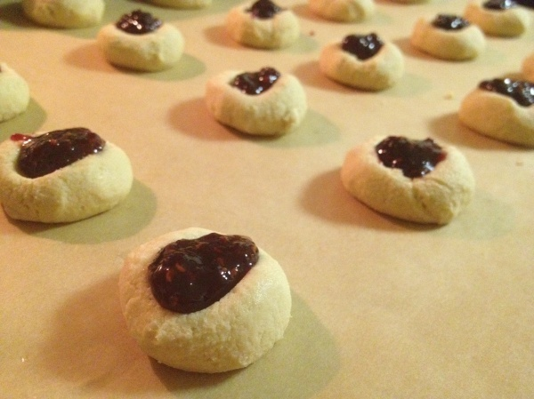 Impossibly Easy Thumbprint Cookies