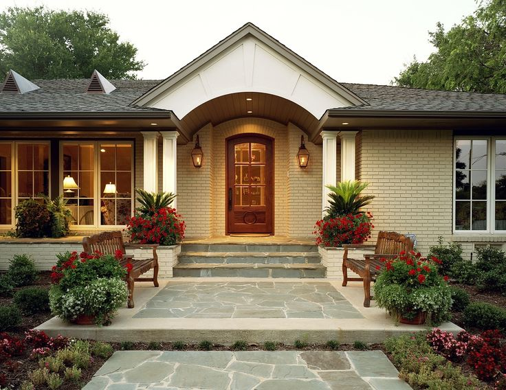 Image result for ranch home exterior remodel before and after