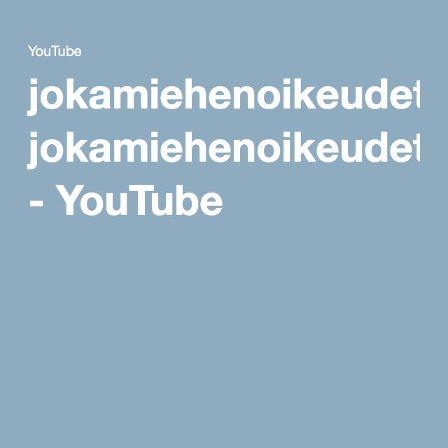 jokamiehenoikeudet.wmv - YouTube