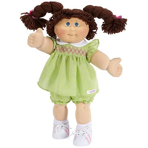"Cabbage Patch Kids Vintage Doll - Limited Edition 30th Birthday - Brunette Hair - Jakks Pacific - Toys ""R"" Us"