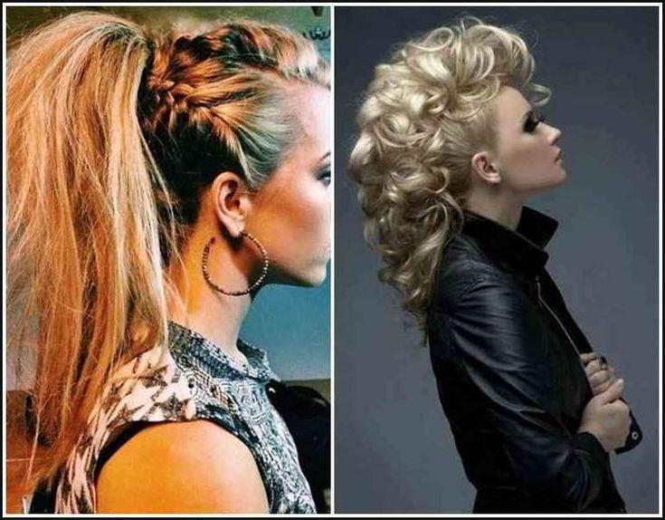 Rocker Frisuren Für Frauen | Bob Frisuren Rockige Flechtfrisuren … | Einfache…