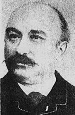 "French inventor Clement Ader (1841-1925), who in 1897 invented a string galvanometer for telegraph operators in order to obtain funds for the creation of his aircraft ""Aquilon"" (Avion III)."