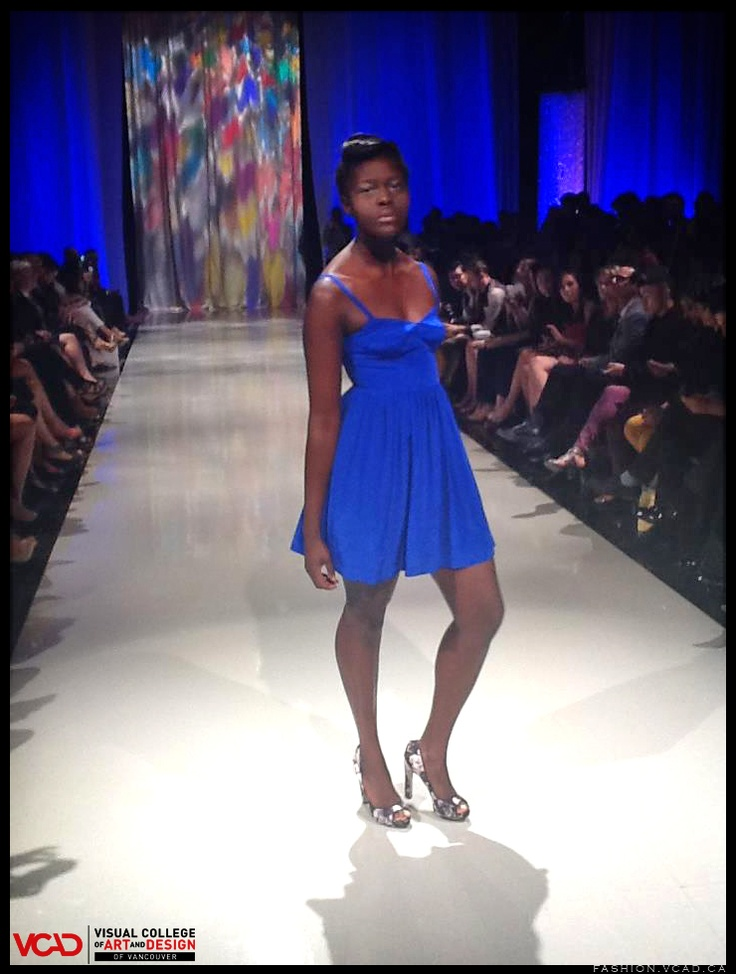 http://fashion.vcad.ca/    #africanmodel #bluedress #shortdress #heels