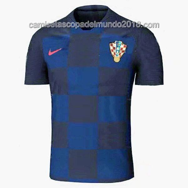 Segunda Camiseta Seleccion Croacia Mundial 2018