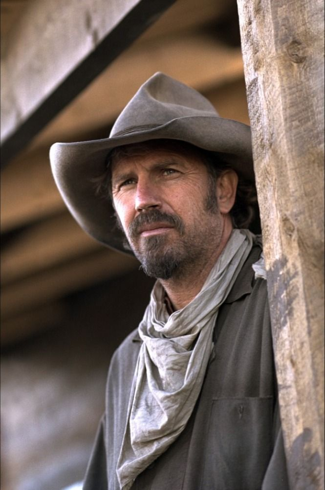 Open Range - Kevin Costner fav/strength/gentleness...remember watchin Wayne cinema w/ baba...gd times