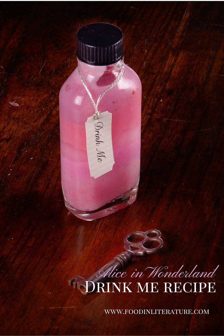 Alice In Wonderland Drink Me Recipe