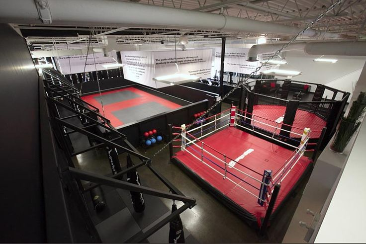 Mma bjj boxing gym space cool decorations pinterest