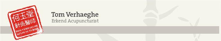 Acupunctuurpraktijk Tom Verhaeghe - Chinese geneeskunde - Tel 051 699 005
