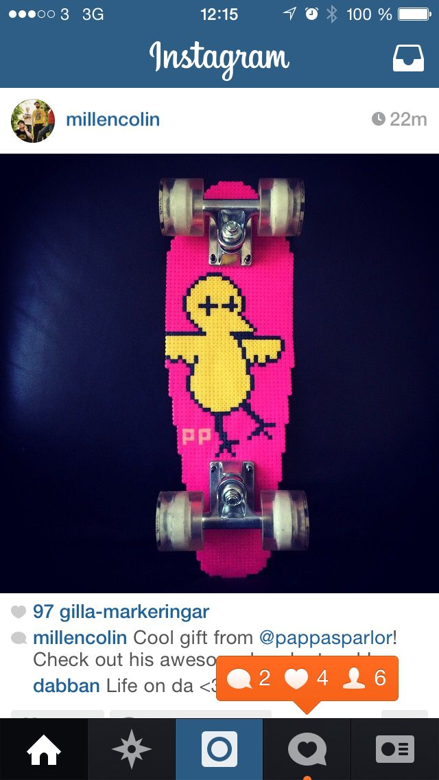 Pappasparlor millencolin skateboard