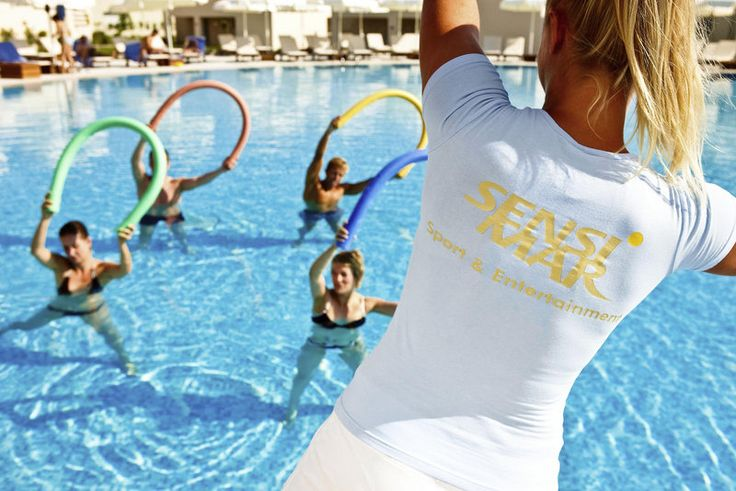Poolfitness Sensimar Belek Resort & Spa ****+ Wellness area