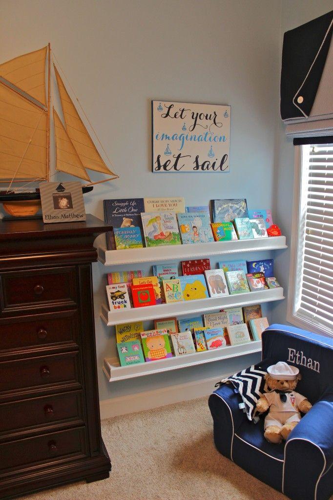 Project Nursery - bookwall
