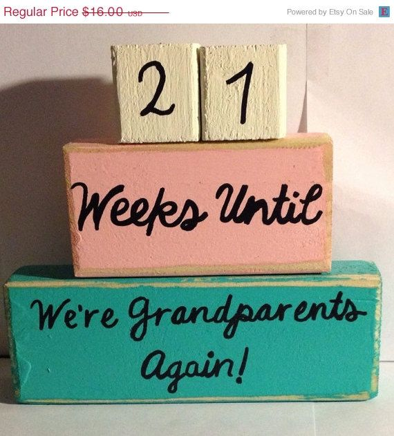 ON SALE Custom Baby Countdown  Baby Countdown by VintageLaceDesign, $14.00