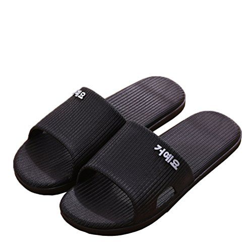 Women Bathroom Slippers Shower Shoes Gym Slippers Soft Sole Open Toe House Slippers with Arch Support for Plantar Fasciitis